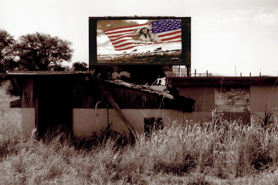 American Indian Flag, from Drive In Theater, 1992